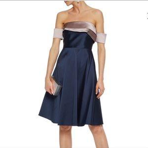 3/$90 SALE!! Sachin + Babi glam navy / pink dress